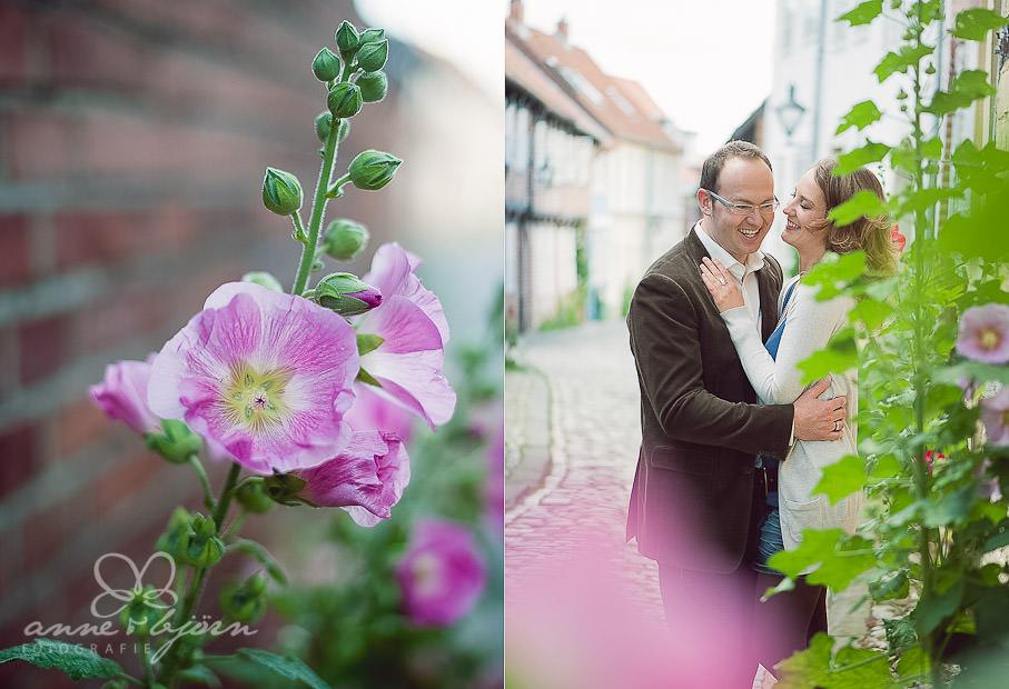 collage 2 - Portraitshooting in Lüneburg Sabrina & Robert