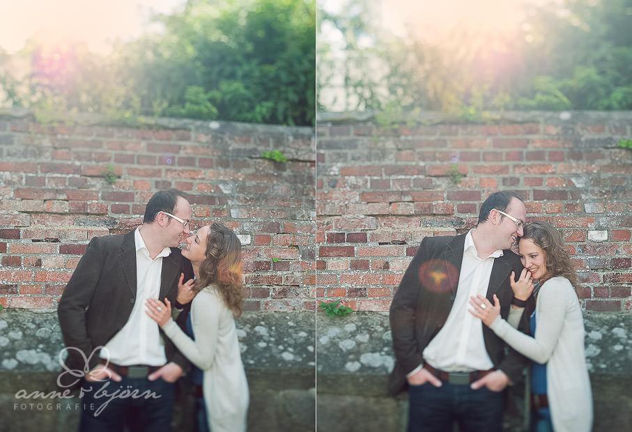 collage 3 - Portraitshooting in Lüneburg Sabrina & Robert
