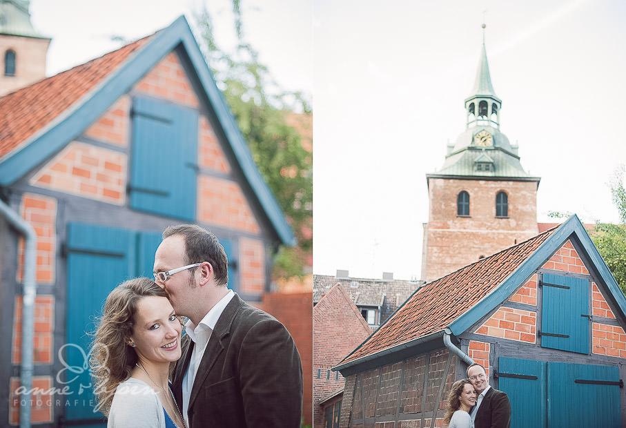 collage 4 - Portraitshooting in Lüneburg Sabrina & Robert