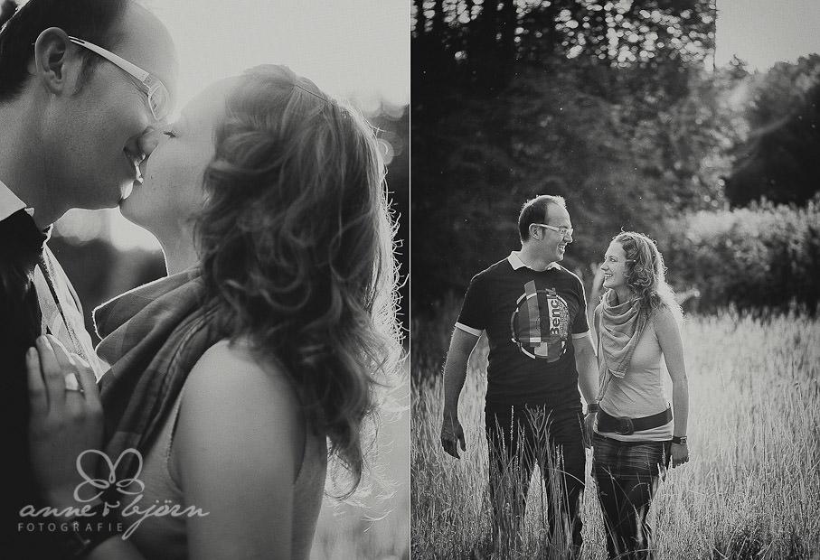 collage 6 - Portraitshooting in Lüneburg Sabrina & Robert