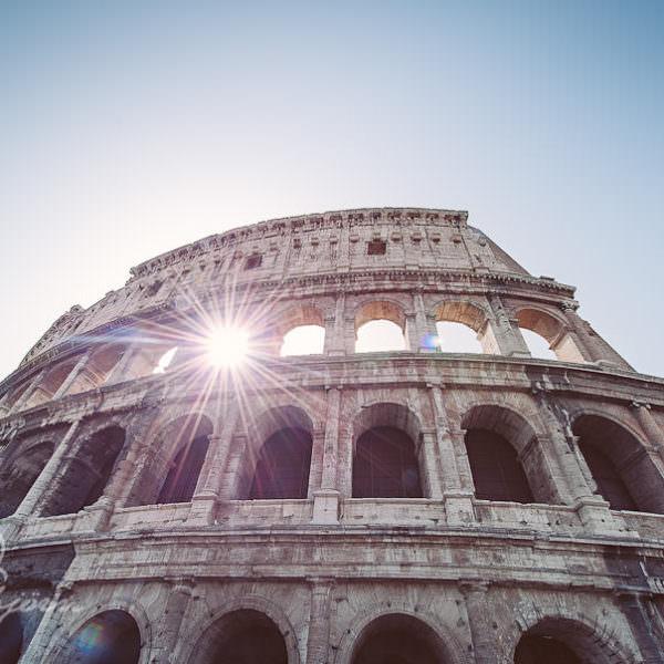 Rom in 3 Tagen, bei 40°C mit dem Rad um´s Colusseum