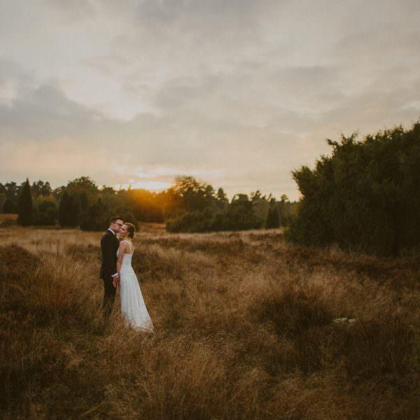 After wedding Shooting in der Lüneburger Heide - Julia & Tobias