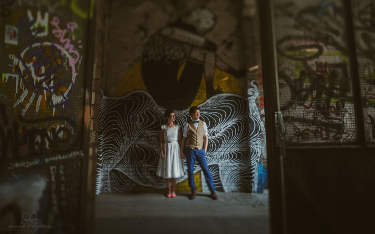 Bunte DIY Hochzeit in der Fabrik 23 - Berlin